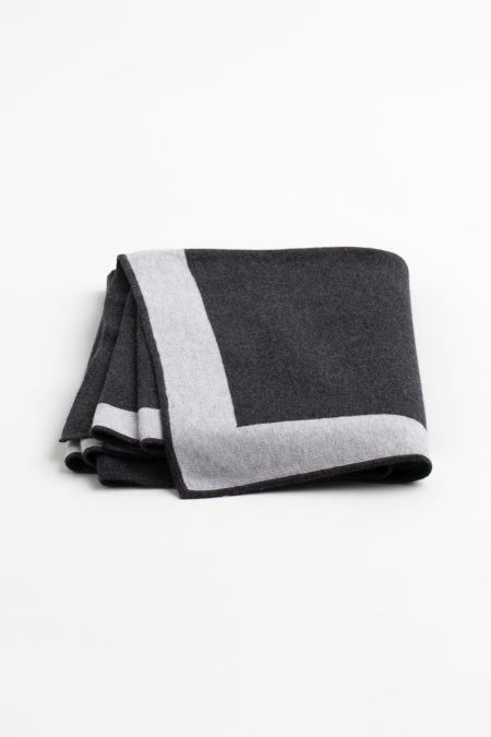 Double Knit Throw - Kinross Cashmere