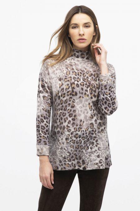 Leopard Funnel - Kinross Cashmere