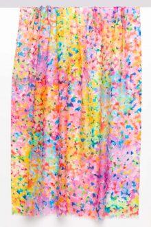French Garden Print Scarf - Kinross Cashmere