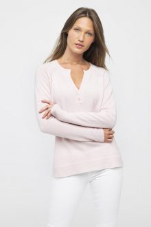 Fitted Henley - Kinross Cashmere