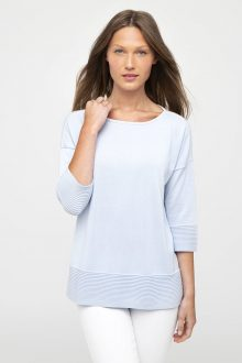 Easy Rib Pullover - Kinross Cashmere