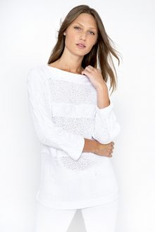 Cable Dolman Pullover - Kinross Cashmere