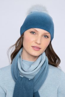 Ombre Hat - Kinross Cashmere