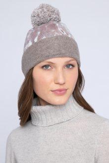 Leopard Hat - Kinross Cashmere