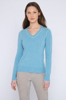Tipped Vee - Kinross Cashmere