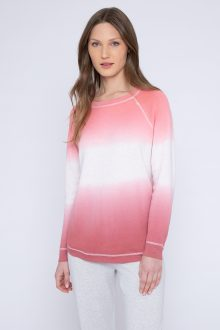 Reversible Ombre Sweatshirt - Kinross Cashmere