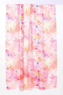 Sunrise Floral Print Scarf - Kinross Cashmere