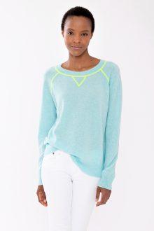 Coverstitch Sweatshirt - Kinross Cashmere