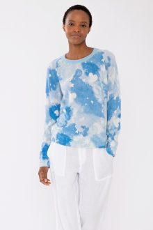 Dreamy Hearts Pullover - Kinross Cashmere
