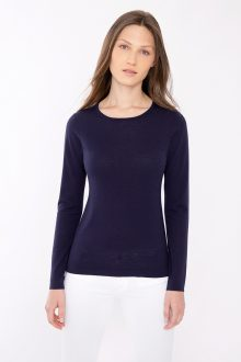 Fitted Crew - Kinross Cashmere