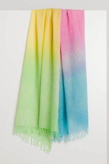 Multicolor Spray Print Scarf - Kinross Cashmere