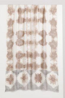Corfu Batik Print Scarf - Kinross Cashmere