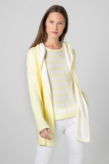 Reversible Coverstitch Hoodie - Kinross Cashmere