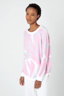 Reversible Paros Sweatshirt - Kinross Cashmere