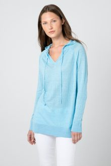 Easy Pullover Hoodie - Kinross Cashmere