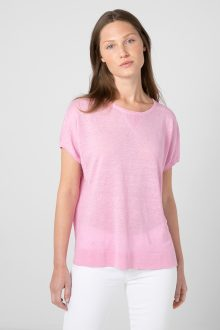 Cap Sleeve Sweatshirt - Kinross Cashmere