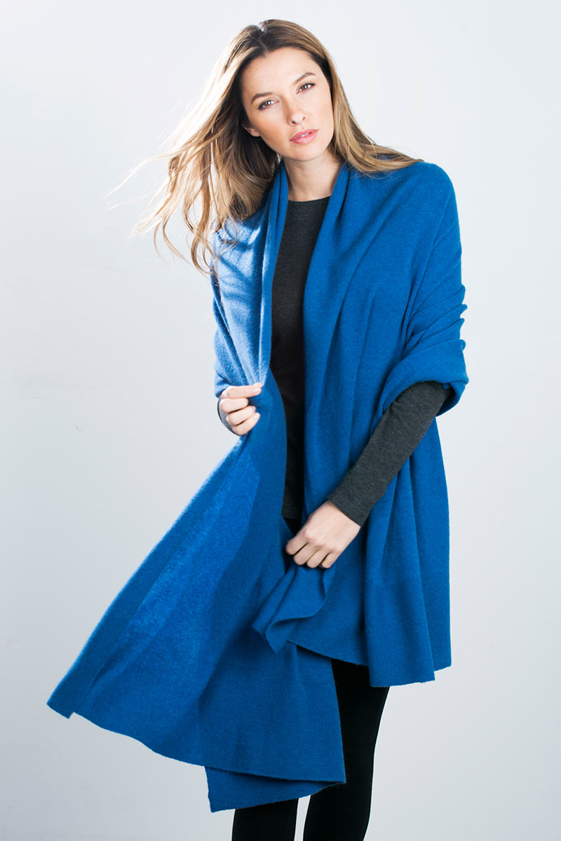 Kinross Cashmere | Oversized Cashmere Travel Wrap
