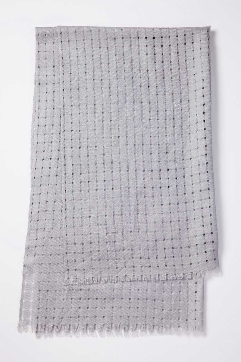 Kinross Cashmere | Open Weave Scarf