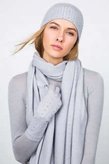 Crystal Cashmere Gloves Kinross Cashmere