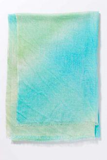 Kinross Cashmere | Spring 2016 | Tie Dye Print Scarf