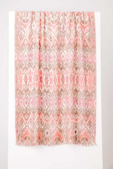 Tapestry Ikat Print Scarf - Kinross Cashmere