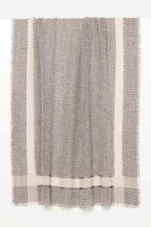 Tweed Fringe Scarf- Kinross Cashmere