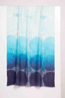 Capri Dots Print Scarf - Kinross Cashmere