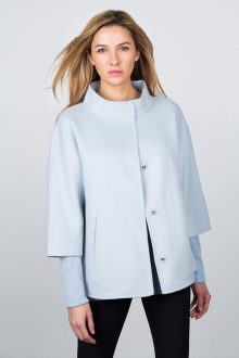 Zip Short Jacket Kinross Cashmere