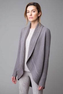 Luxe Circle Cardigan - Kinross Cashmere