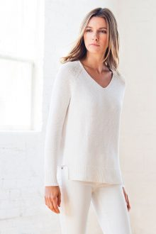 Women's 100% Chunky Cotton - Spring 2018 - Kinross Cashmere