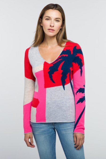 Palm Vee - Kinross Cashmere