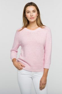 Front to Back Vee - Kinross Cashmere