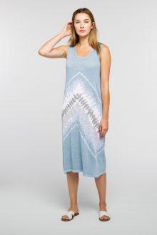 Tie Dye Dress - Kinross Cashmere